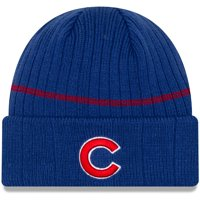 Chicago Cubs New Era Primary Logo On-Field Sport Cuffed Knit Hat - Royal - OSFA