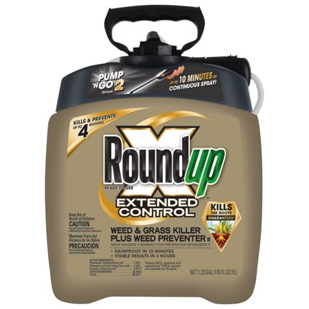 Roundup Ready-To-Use Extended Control Weed & Grass Killer Plus Weed Preventer II with Pump 'N Go? 2