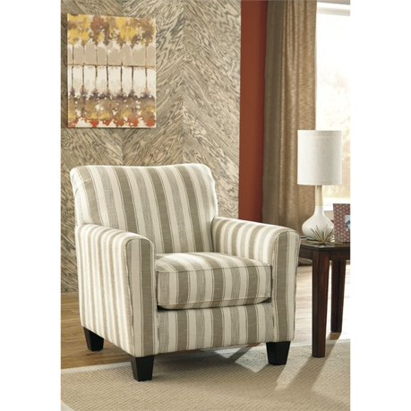 Ashley laryn accent chair in khaki for Meuble ashley circulaire