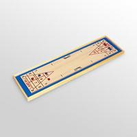 Carrom Shuffleboard Game Board