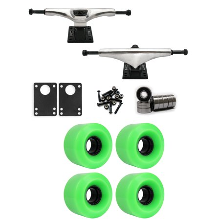 Core 7.0 Longboard Trucks Wheels Package 60mm x 41mm 83A 802C Green
