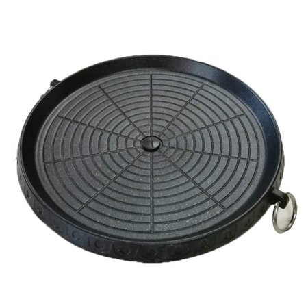 Korean Maifan Stone Barbecue Pan Non-stick Smokeless Indoor Grill Stovetop (Best Indoor Grill For Korean Bbq)