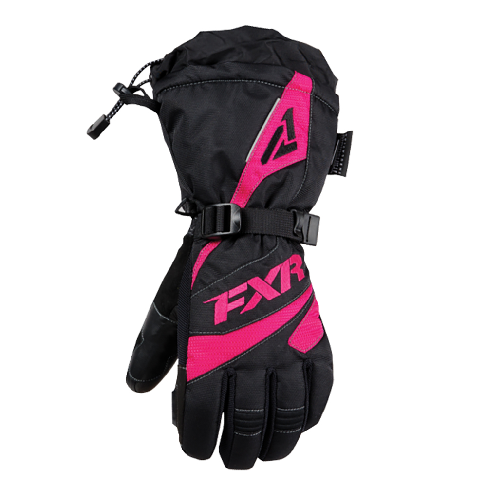 FXR Fusion Glove Authentic Thinsulate Waterproof Pre-Curved Fit Snowmobile