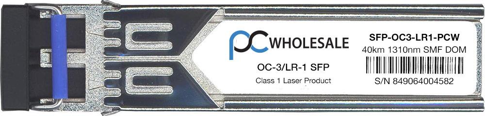Cisco Compatible SFP-OC3-LR1 OC-3 LR-1 SFP Transceiver by Cisco