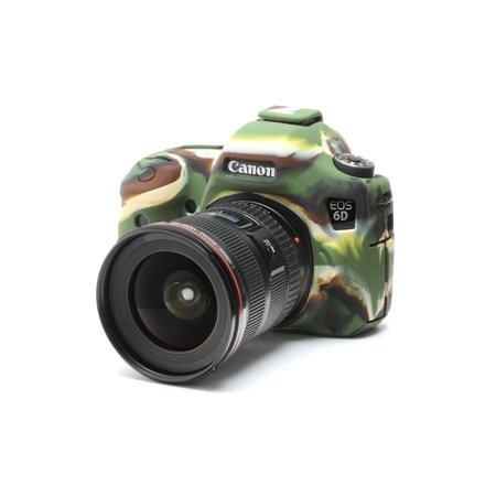 easyCover camera case for Canon 6D Camouflage (Camera Case Camouflage)