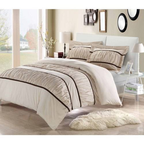 Chic Home Elizabeth 3-Piece Bedding Ruffled Duvet Cover Set