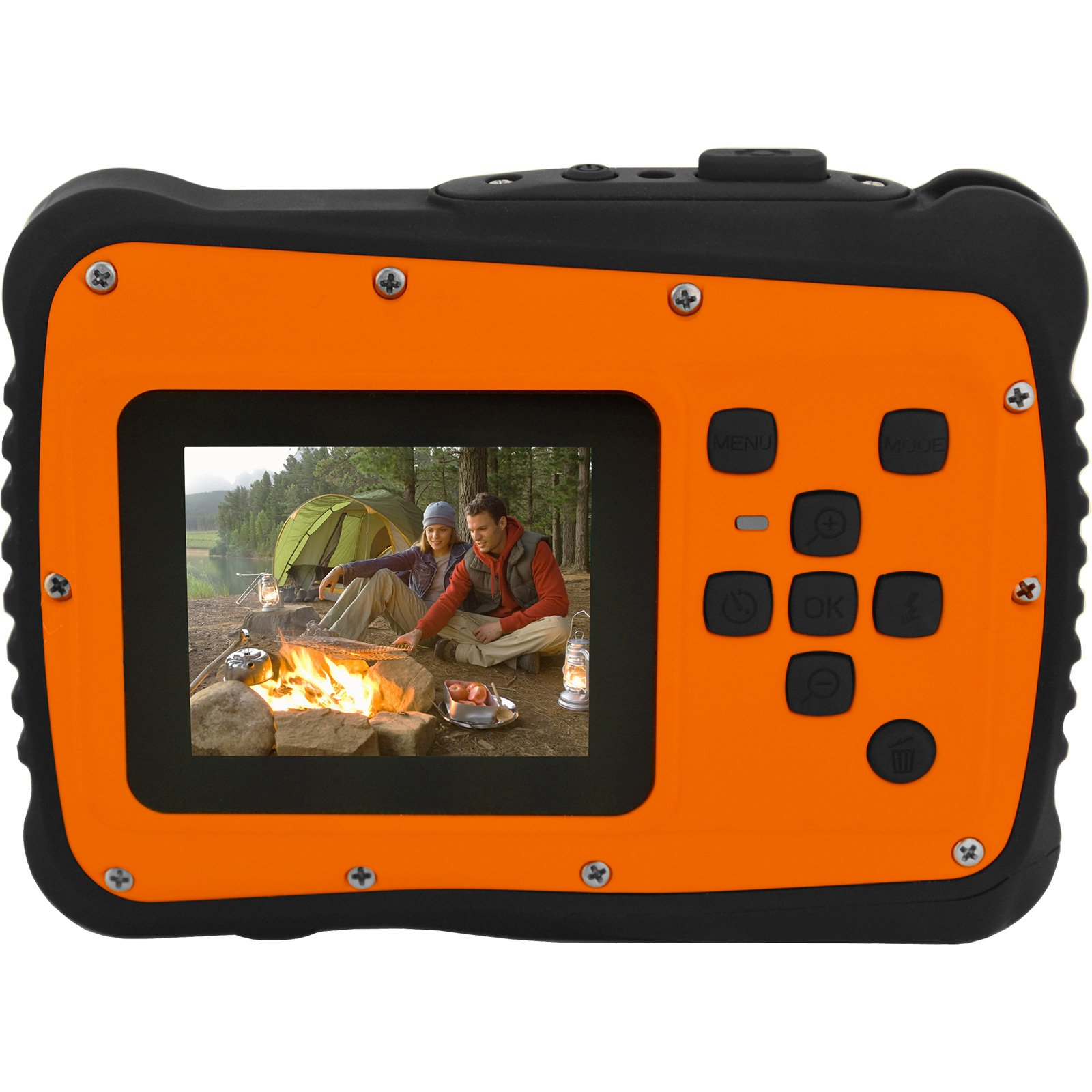 Coleman Orange C6WP MiniXtreme HD Video Waterproof Digital Camera Kit