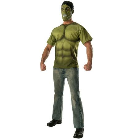 Halloween Store In Houston (Hulk T-Shirt Adult Costume)