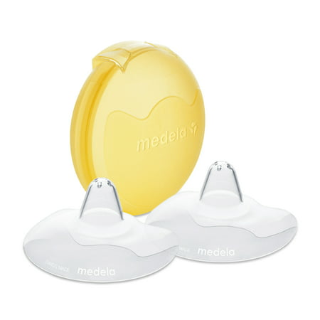 Medela Contact Nipple Shields 24mm with case Jeweled Nipple Shield