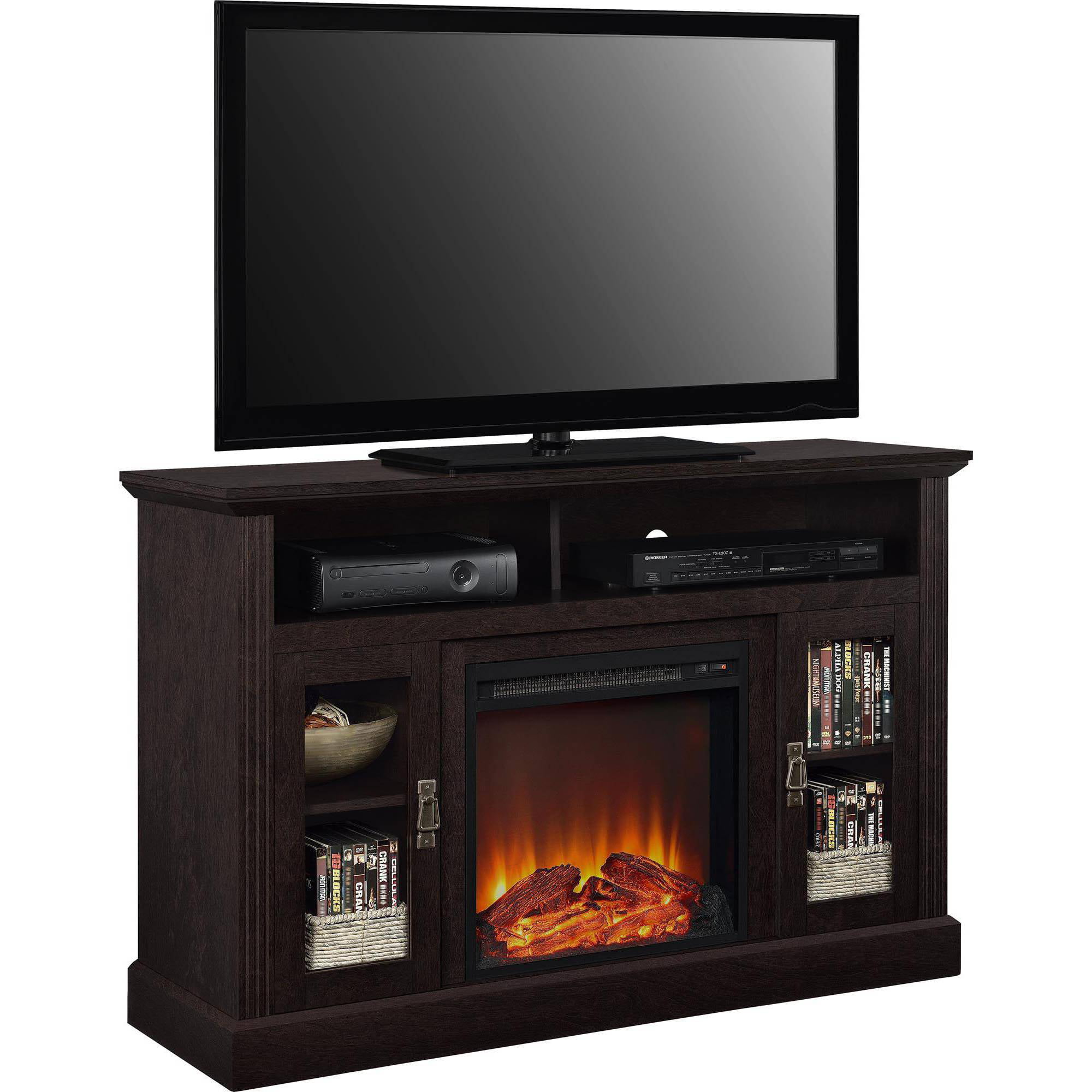 Altra Chicago Electric Fireplace TV Console for TVs up to a 50 ...
