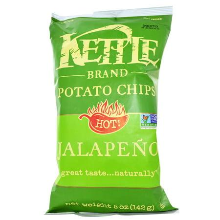 Kettle Potato Chips, Jalapeno, 5 Oz - Potato Sacks For Sale