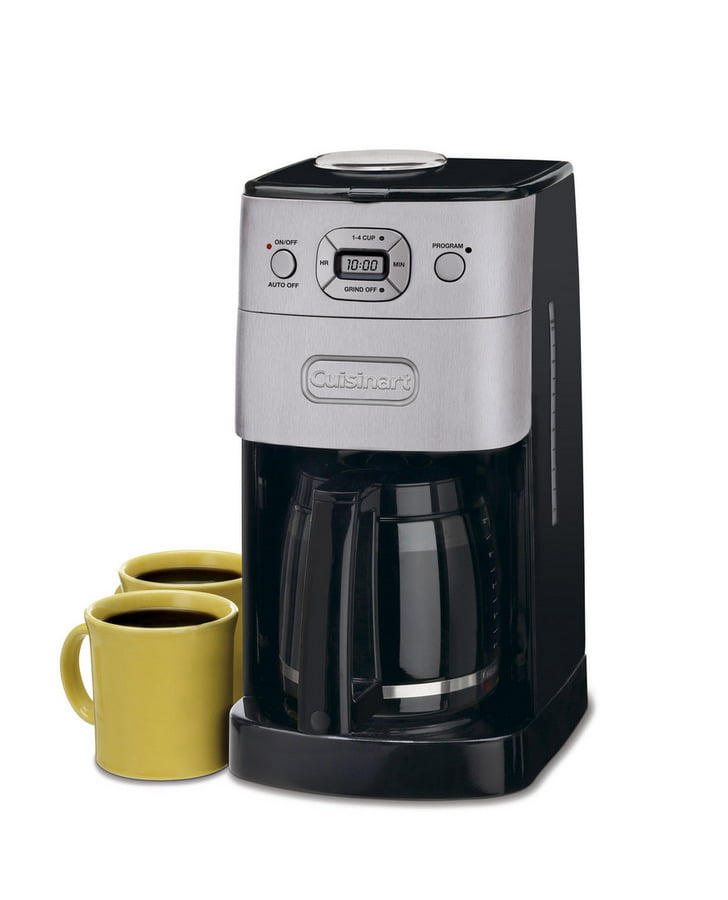 Cuisinart Grind and Brew 12Cup Automatic Coffeemaker Walmartcom