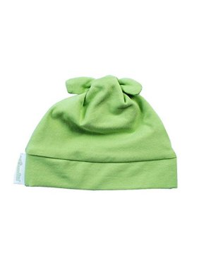Woombie Cotton Knotted Baby Hat - Keylime (0-6m)