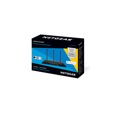 NETGEAR Nighthawk AC2600 Smart WiFi Router (R7450) - Walmart com