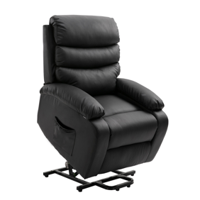 Clearance!Power Lift Recliner Chair for elderly, High Grade PU Leather Massage Sofa Lounge Chair with Remote Control, Heavy Duty and Safety Motion