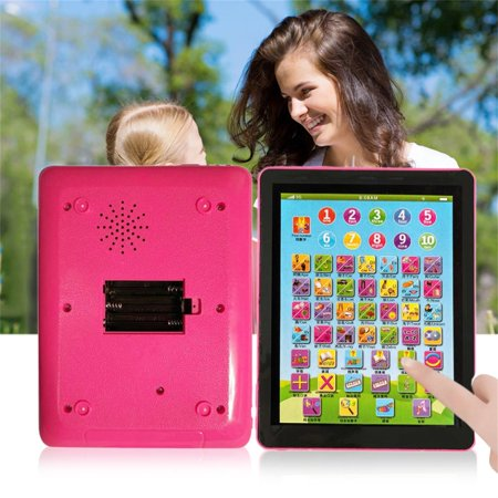 (Tablet Pad Computer For Kid Children Learning English Educational Teach Toy)