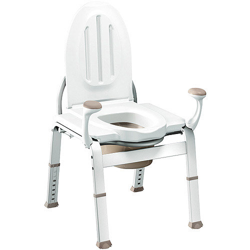 Moen Home Care Bedside Commode, 1ct