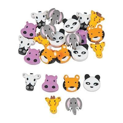 IN-13758391 Mini Zoo Animals Erasers 144 Piece(s)