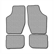 Averys Floor Mats 1030-701 Custom-Fit Nylon Carpeted Floor Mats For 1983-1989 Buick Skyhawk, Black, 4 Piece Set