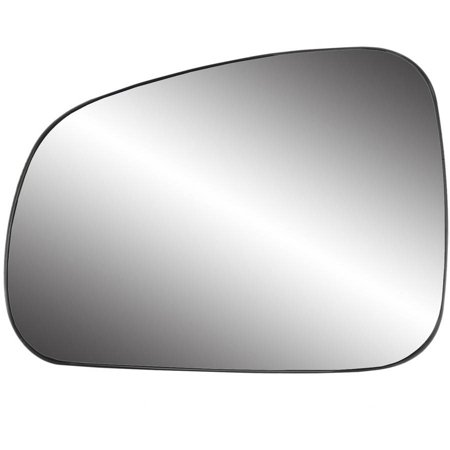 88259 - Fit System Driver Side Non-heated Mirror Glass w/ backing plate, Pontiac Grand Prix (from 4/ 24/ 05-2008) 05-08, 5 1/ 2