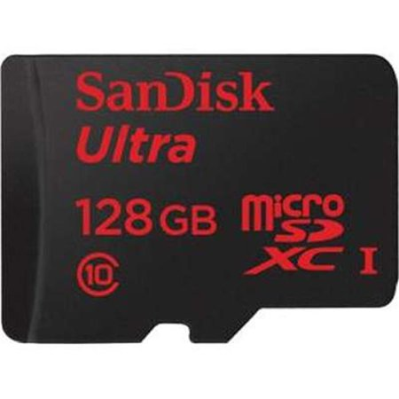 Sandisk SDSQUNC-128G-AN6MA Ultra Micro Secure Digital High Capacity Memory Card, 128 GB - image 1 of 1