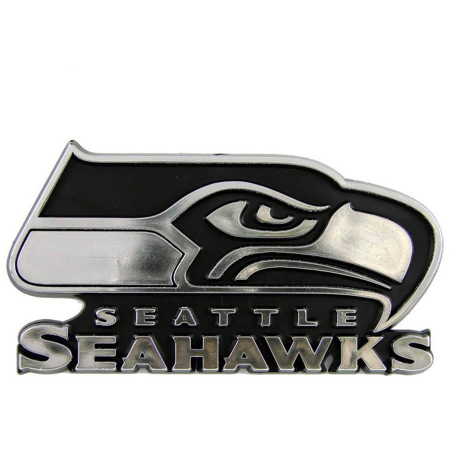 NFL Seattle Seahawks Chrome Automobile Emblem