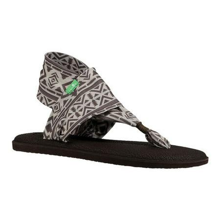 Sanuk Yoga Sling 2 Prints Women's Sandals 1100698 (Sanuk Yoga Mat Flip Flops Womens)