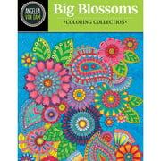 Design Originals-Big Blossoms Coloring Collection
