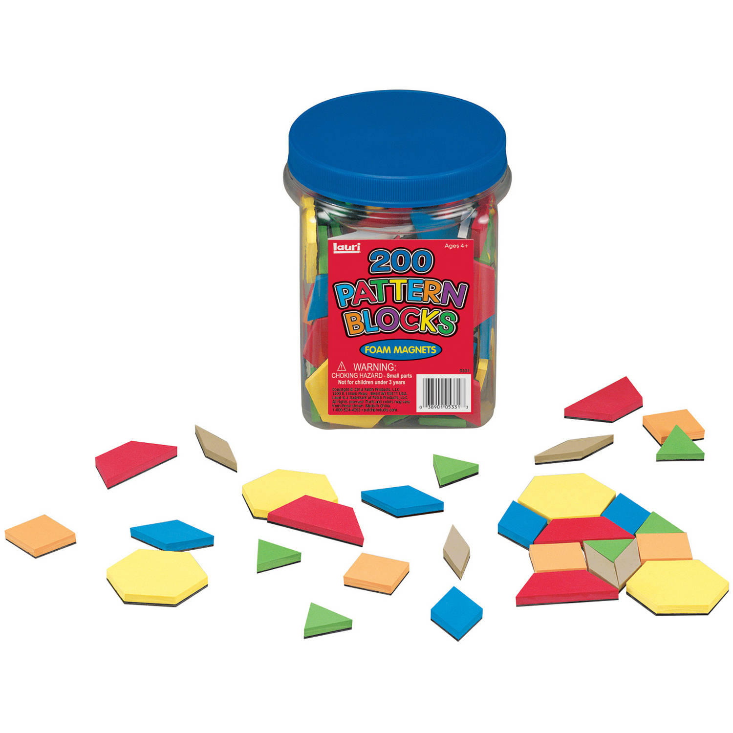 LAURI Magnetic Pattern Block, 200pc