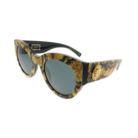 Versace  VE 4353 528387 Womens  Cat-Eye (Versace Yellow Sunglasses)