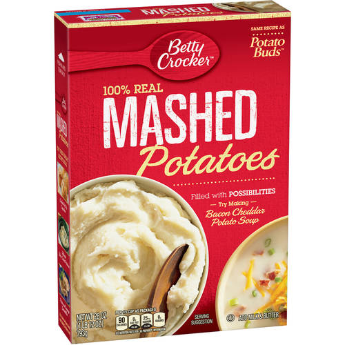 Betty Crocker Potato Buds Mashed Potatoes, 28 oz