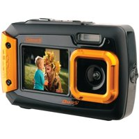Coleman 2V9WP-O 20.0-Megapixel Duo2 Dual-Screen Waterproof Digital Camera (Orange)