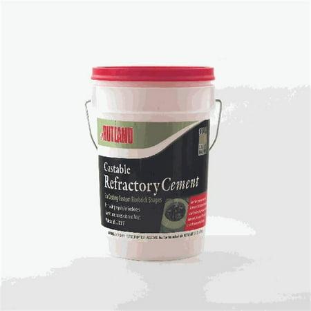 Rutland 600 CASTABLE REFRACTORY CEMENT 12 1/2 lbs