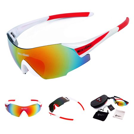 Men Women Outdoor Windproof Motorcycle Cycling Glasses UV