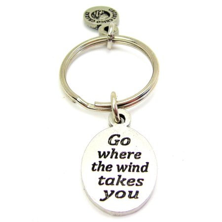 Chubby Chico Charms Go Where The Wind Takes You Key Chain](Giant Wind Up Key)