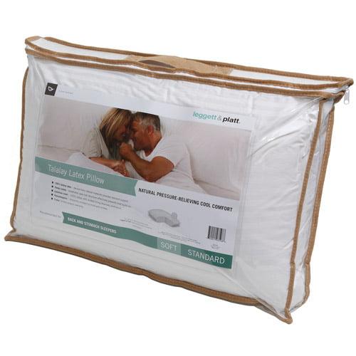 Leggett & Platt Home Textiles Talalay Latex Soft Pillow, Multiple Sizes