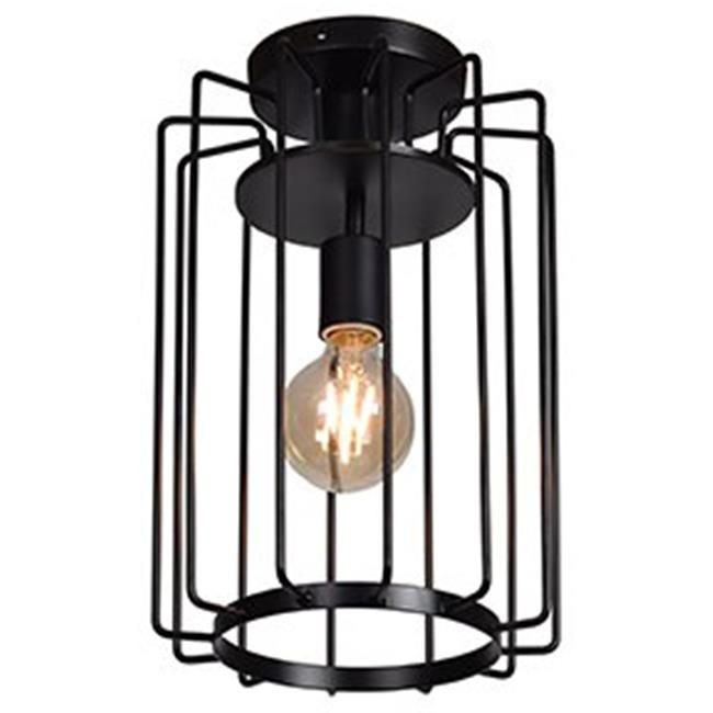 Access lighting 23893LEDDLP-GLD 14.25 x 9 in. Wired 1-Light Vertical Cage Flush Mount, Gold - image 1 of 1