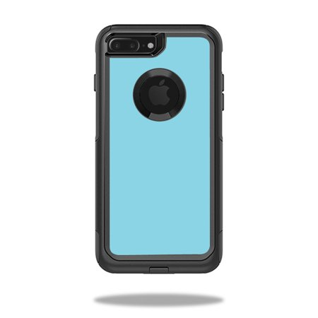 MightySkins Skin For OtterBox Commuter iPhone 8 Plus | Protective, Durable, and Unique Vinyl Decal wrap cover | Easy To Apply, Remove, and Change Styles | Made in the USA (Iphone 4 Orange Screen)