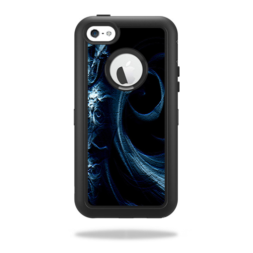 Mightyskins Protective Vinyl Skin Decal Cover for OtterBox Defender iPhone 5C Case wrap sticker skins Stone Waves