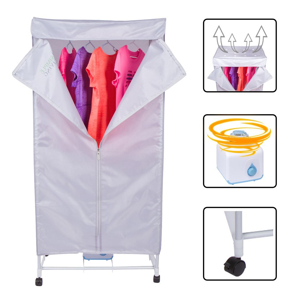Amazing 15KG Compact Electric Portable Clothing Dryer   Portable Clothes Dryer Rack  Dries Clothing In 30 Minutes. Saves Time, Money U0026 Space. Dries Everything.