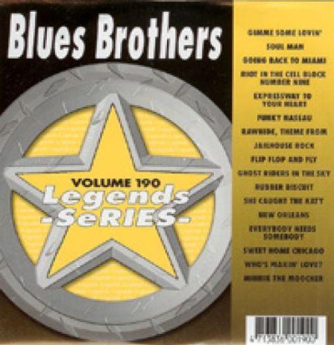 BLUES BROTHERS Karaoke CDG 17 Songs