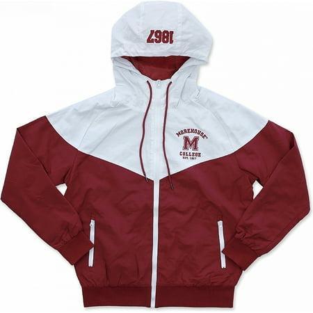 Big Boy Morehouse Maroon Tigers S4 Mens Windbreaker Jacket [Maroon - 2XL]