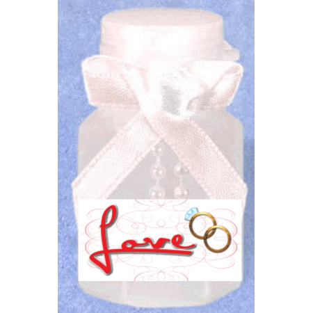 Love 12pack Mini Bubble Favors](Love Bubble)
