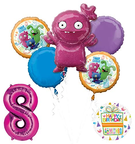 Mayflower Products Ugly Dolls 8th Birthday Party Supplies 34