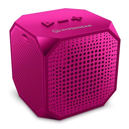 HyperGear Sound Cube Bluetooth Speakers, Rechargeable 5W Portable Wireless Speaker Compatible with All Bluetooth Devices, Built-in Microphone for iphone Ipad, Ipod Samsung Tablet Laptop -