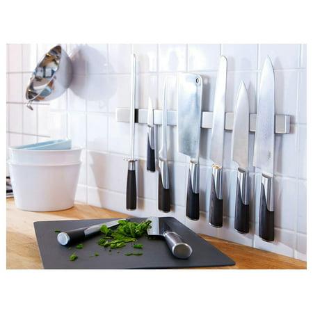 Magnetic Knife Holder 16 40cm Magnetic Knife Strip Kitchen Knife Block Replacement Knife Holder 16 Black