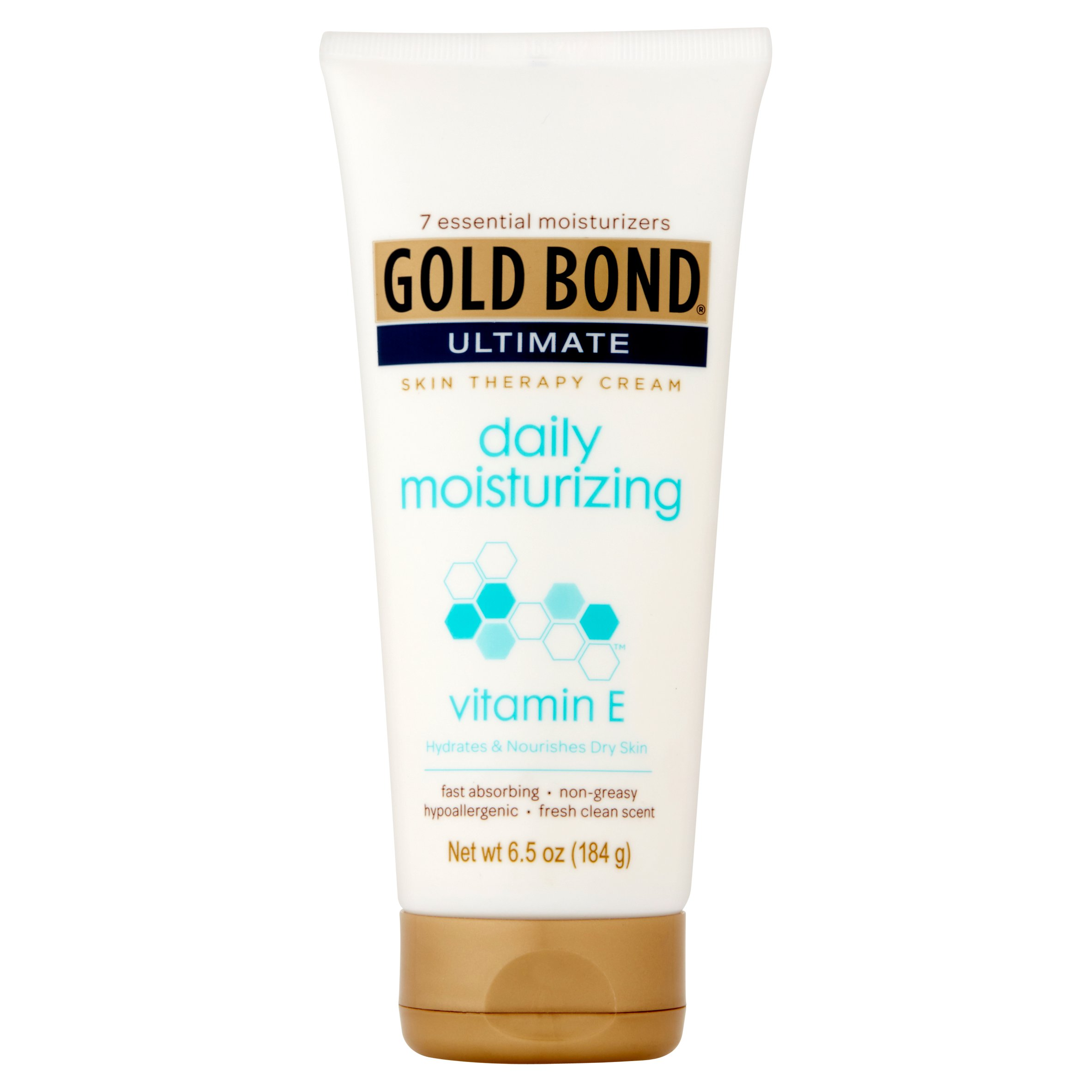 Gold Bond Ultimate Daily Moisturizing Skin Therapy Cream with Vitamin E, 6.5 oz