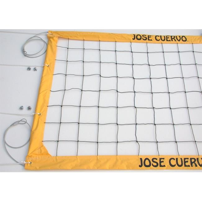 Home Court JCCNC Jose Cuervo Power Cable Volleyball Net