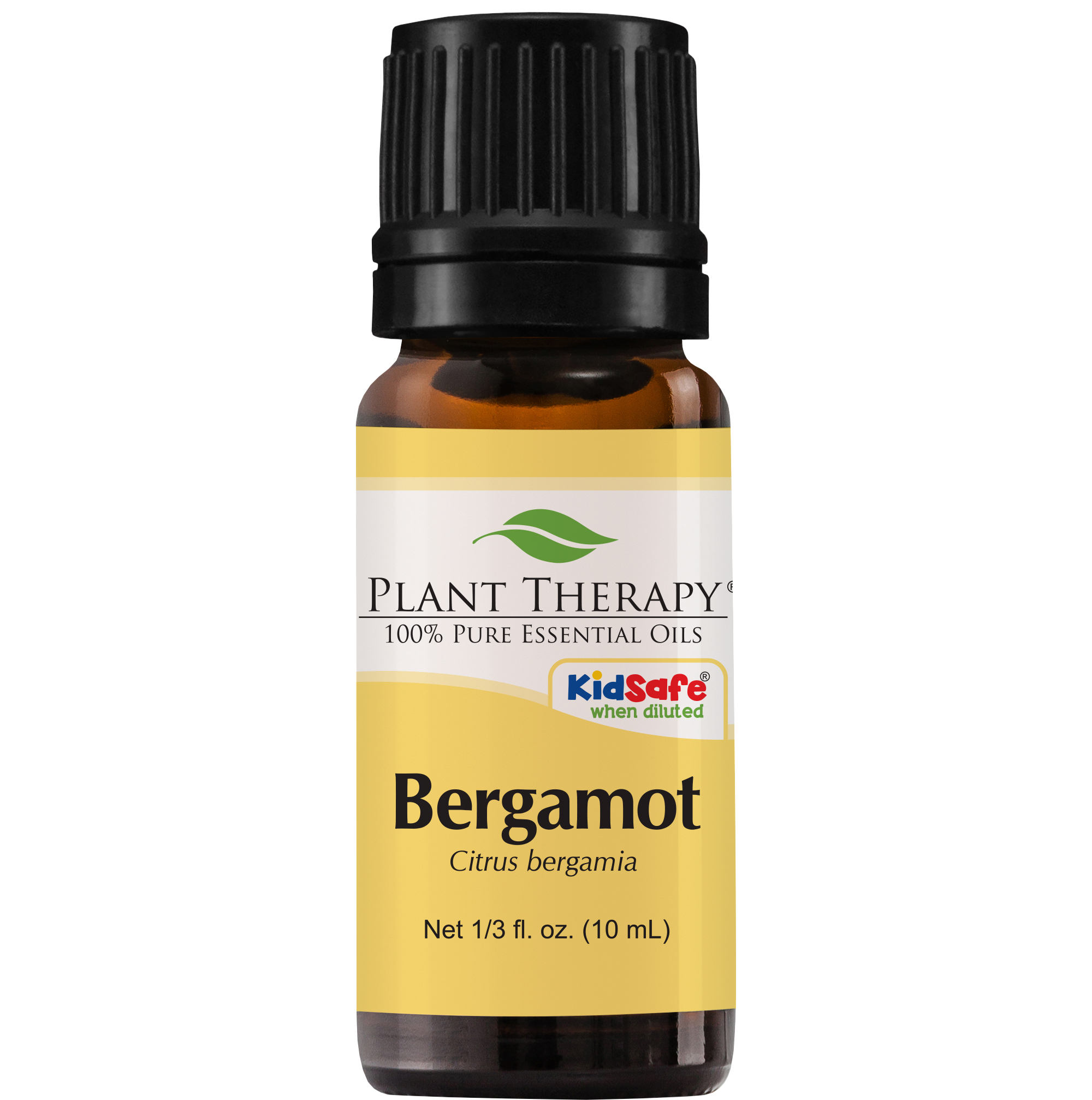 Plant Therapy Bergamot Essential Oil | 100% Pure, Undiluted, Natural Aromatherapy, Therapeutic Grade | 10 mL (1/3 oz)