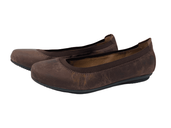 Pippa Flat, Distressed Washed Camel, 38